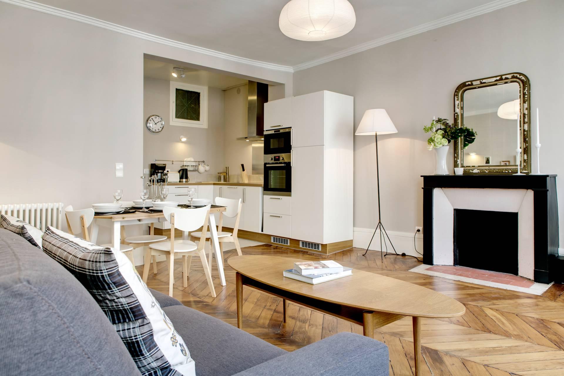 Location appartement paris: un appartement lumineux et élégamment ...
